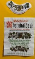 15575 - Schaffhauser Rheinhalder 1986 Blauburgunder Aus Dem Rebgut Der Stadt Schaffhausen - Other