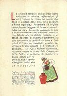 """8906""""CASA MAMMA DOMENICA-INVITO A FARE OFFERTE""""-CARTONCINO ORIGINALE - Advertising"""