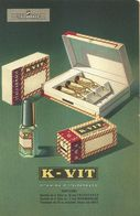 "8907""K-VIT-ITALFARMACO-MILANO""-CARTONCINO ORIGINALE - Advertising"