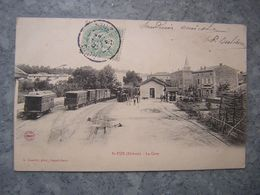 ST UZE - LA GARE - France