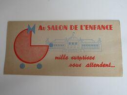 AU SALON DE L'ENFANCE - Mille Surprises Vous Attendent.... - Advertising