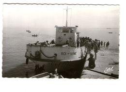 17 Ile D' Aix  Le Roi De Rome à Quai Bateau Port  CPSM PF Edit Estel - Frankreich