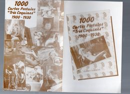 Annonce De La Parution De 1000 CARTES POSTALES TRES COQUINES (M0619) - Advertising