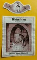 15577 -  Maienfelder Beerliwein 1986 Markus Stäger Maienfeld - Other