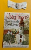 15578 -  Osterfinger Blauburgunder  Beerliwein 1986 - Other