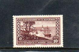 ALGERIE 1930 * - Unused Stamps