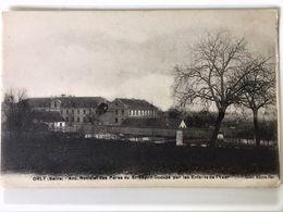 Oude Postkaart Dd 1916-17 Les Enfants De L'Yser Jongensschool Kolonie Te ORLY Anc.Noviciat Des Pères Du St Esprit - Orly