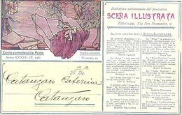 """8915""""SCENA ILLUSTRATA""""-CARTONCINO ORIGINALE - Advertising"""
