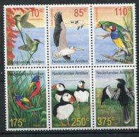 Antilles Néerlandaises  Oiseaux      1280/1285 ** - Oiseaux