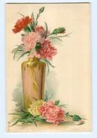 Y6912/ Blumen Blumenvase Litho AK  Ca.1900 - Sin Clasificación
