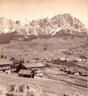 AK-1480/ Cortina Vom Belverdere Südtirol  Stereofoto V Alois Beer ~ 1900 - Photos Stéréoscopiques