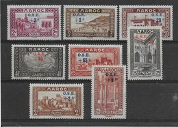 Maroc N°153/160 - Neuf * Avec Charnière - TB - Ungebraucht