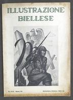 Rivista Biella - Illustrazione Biellese - Anno XII - N. 9 - 10 - 1942 - Bücher, Zeitschriften, Comics