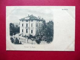 Cartolina Schio Villino G. Rossi Non Viaggiata Primo '900 - Vicenza