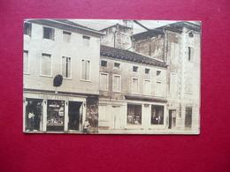 Cartolina Camisano Piazza Umberto I Toniolo Francesco Viaggiata 1917 - Vicenza