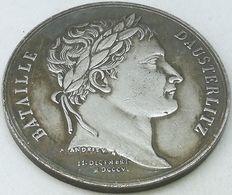 RÉPLICA Medalla Batalla De Austerlitz. Francia, Napoleon – Zar Alejandro I. Rusia.  1805 - Voor 1871