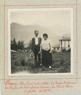 Passy (Haute-Savoie) Au Fond De La Vallée : Le Fayet - Saint-Gervais-les-Bains - Le Mont-Blanc à Gauche. - Places