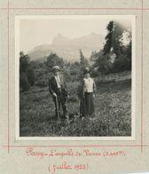 Passy (Haute-Savoie). L'Aiguille De Varens (2448m). Juillet 1925. - Places