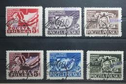 Polen 607-612 Gestempelt #UB736 - Poland