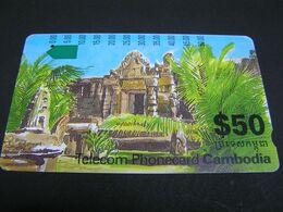 CAMBODIA Phonecards.. - Kambodscha