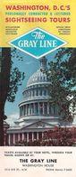 WASHINGTON, D.C. (U.S.A.) - THE GRAY LINE - WASHINGTON HOUSE. - Folletos Turísticos