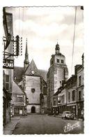28 Nogent Le Roi Place De L' Eglise Voiture Auto Citroen 2cv Chevaux CPSM PF Edit Estel - Nogent Le Roi