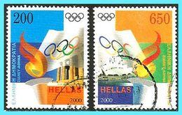 GREECE- GRECE - HELLAS 2000:  Olympic Games, Sydney Compl. Set Used - Griechenland