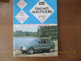 """CITROËN VISA """"SUPER"""" (5cv) L'EXPERT AUTOMOBILE MENSUEL N° 161 JANVIER 1980 - Auto"""