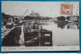 CPA - AUXERRE - Les Bords De L'Yonne Au Moulin Du Bâtardeau - Auxerre