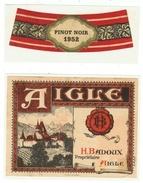 Rare // Aigle 1952, Henri Badoux, Aigle, Vaud // Suisse - Other