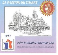 TIMBRE FRANCE NEUF 2007 - FFAP - N°1 YT. - FFAP