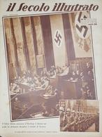 Rivista Attualità - Il Secolo Illustrato N. 11 - Il Fuhrer Al Reihstag - 1936 - Bücher, Zeitschriften, Comics