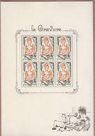 BLOC FEUILLET LA GRAVURE TP N°2315 DE 1984 Réémis Sous Forme De Bloc NEUF**  TRES BEAU VOIR. - Blocs & Feuillets