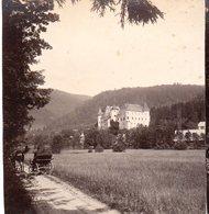 AK-1608/ Frauenstein Kärnten Stereofoto V Alois Beer ~ 1900 - Photos Stéréoscopiques