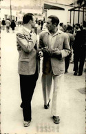 FRANCE / MAROC - Carte Postale Photo - Personnages Dans La Rue En 1948 -  Photographe De Casablanca - L 67784 - Te Identificeren