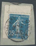 Lot N°57967  N°140 Coin De Feuille/fragment, Oblit Cachet à Date De Millau, Aveyron (11) - 1906-38 Semeuse Camée