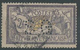Lot N°57970  N°122, Oblit Cachet à Date De PARIS, Perforé SG - 1900-27 Merson