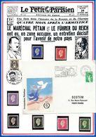FRANCE - ENV. OBLI VISITEZ LA LIGNE MAGINOT LE HACKENBERG KEDANGE SUR CANNER 03.12.80 + TIMBRES NEUFS - Guerre Mondiale (Seconde)