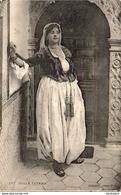 ALGERIE  SCENES ET TYPES  Belle Fathma  ..... ( Ref FF1707 ) - Algérie