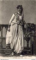 ALGERIE  SCENES ET TYPES  La Belle Fatma- Costume De Femme Arabe Riche ..... ( Ref FF1613 ) - Algérie