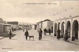 ALGERIE  COLOMB-BECHAR  Rue Principale - Bechar (Colomb Béchar)