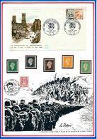 FRANCE - ENV OBLI 20E ANNIV DE LA LIBERATION  DEBARQUEMENT CAEN 6.6.64 + TIMBRES NEUFS - Guerre Mondiale (Seconde)