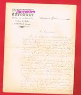 LUSIGNAN Vienne 1896 HOTEL DE LA MELUSINE GUYONNET En Face Les Halles - 1800 – 1899