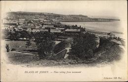 Cp Saint Helier Jersey Kanalinseln, View From Westmount - Sonstige