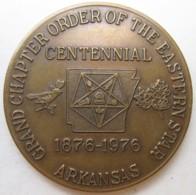 Jeton Maçonnique Arkansas Grand Chapter Of The Eastern Star 1976. Masonic - Other