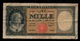 Italie - 1000 Lire - 1947 (verso Voir Scan) - [ 2] 1946-… : Repubblica