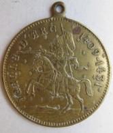 Médaille Jeanne D'Arc 1409 – 1431. Orleans 1429, Reims 1429, Rouen 1431 - Autres