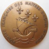 Médaille Société Française Des Maitres D'Hôtel D'Extra. Centenaire 1888 – 1988 - Other