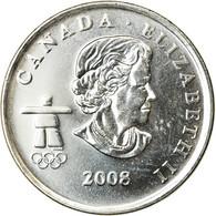 Monnaie, Canada, Elizabeth II, 25 Cents, 2008, Royal Canadian Mint, SUP, Nickel - Canada