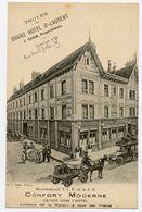 Recommandé Touring Club De France Et Automobile Club De France Troyes. Grand Hôtel Saint-Laurent Avec Garage. Publicité. - Postcards